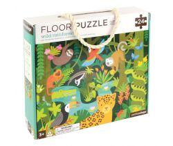 Podlahové puzzle Petitcollage Deštný prales