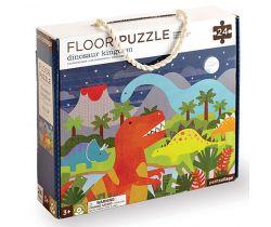 Podlahové puzzle Petitcollage Království dinosaurů