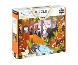 Podlahové puzzle Petitcollage Lesní zvířátka