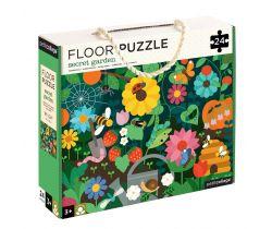 Podlahové puzzle Petitcollage Tajemná zahrada