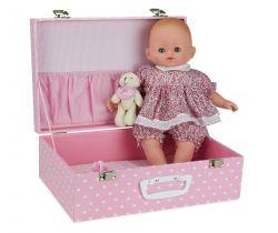 Panenka v kufříku Baby Doll Petitcollin 36 cm