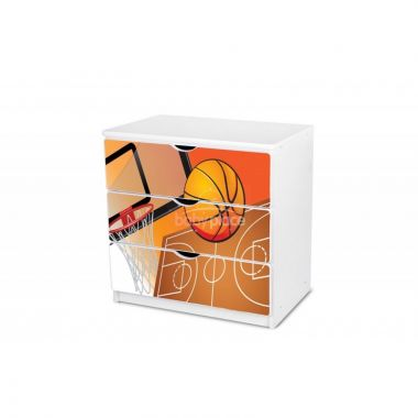Šuplíková komoda Pinokio Deluxe Basketbal 32