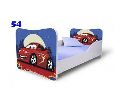 Pinokio Deluxe Butterfly Auta 54 dětská postel