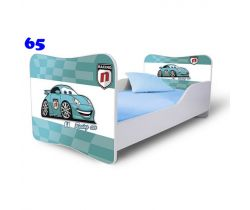Pinokio Deluxe Butterfly Auta 65 dětská postel