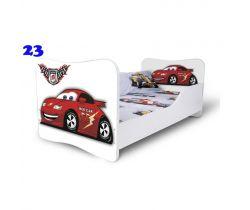 Pinokio Deluxe Butterfly Auto 23 dětská postel