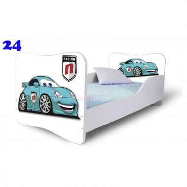 Dětská postel Pinokio Deluxe Butterfly Auto 24