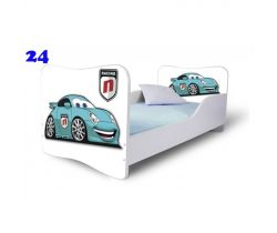 Pinokio Deluxe Butterfly Auto 24 dětská postel