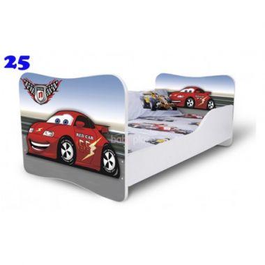 Pinokio Deluxe Butterfly Auto 25 dětská postel