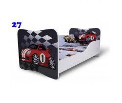 Pinokio Deluxe Butterfly Auto 27 dětská postel