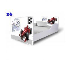 Pinokio Deluxe Butterfly Formule 26 dětská postel