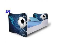 Pinokio Deluxe Butterfly Fotbal 29 dětská postel