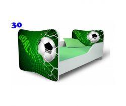 Pinokio Deluxe  Butterfly Fotbal 30 dětská postel