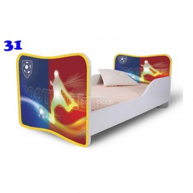 Pinokio Deluxe Butterfly Fotbal 31 dětská postel
