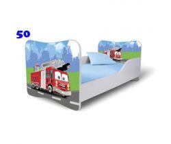 Pinokio Deluxe Butterfly Hasič 50 dětská postel