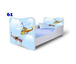 Pinokio Deluxe Butterfly Helikoptéra 61 dětská postel