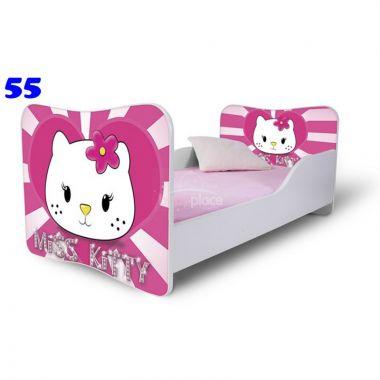 Pinokio Deluxe Butterfly Hello Kitty 55 dětská postel