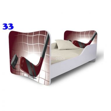 Pinokio Deluxe Butterfly Hokej 33 dětská postel