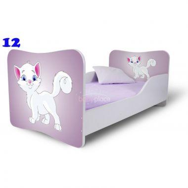 Pinokio Deluxe Butterfly Kočka 12 dětská postel