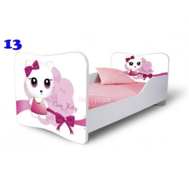Dětská postel Pinokio Deluxe Butterfly Kočka 13