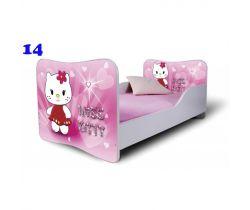 Pinokio Deluxe Butterfly Kočka 14 dětská postel