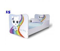 Pinokio Deluxe Butterfly Kočka 15 dětská postel