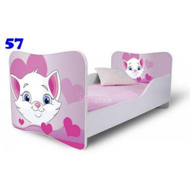 Pinokio Deluxe Butterfly Kočká 57 dětská postel