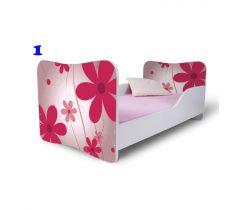 Pinokio Deluxe Butterfly Květina 1 dětská postel