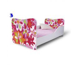 Pinokio Deluxe Butterfly Květinka 3 dětská postel