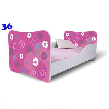 Pinokio Deluxe Butterfly Květinky 36 dětská postel