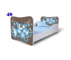 Pinokio Deluxe Butterfly Květiny 46 dětská postel