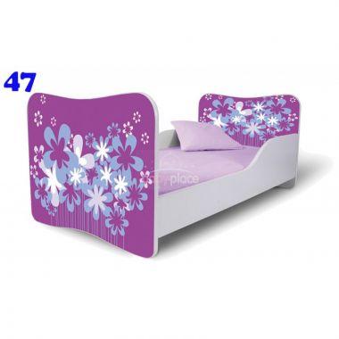 Pinokio Deluxe Butterfly Květiny 47dětská postel