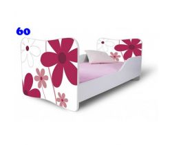 Pinokio Deluxe Butterfly Květiny 60 dětská postel