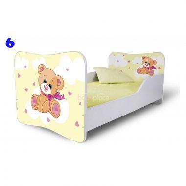 Pinokio Deluxe Butterfly Medvěd 6 dětská postel