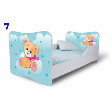 Pinokio Deluxe Butterfly Medvěd 7 dětská postel