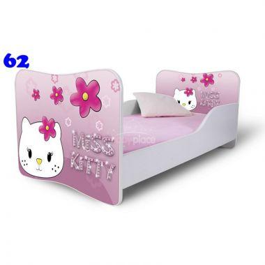 Pinokio Deluxe Butterfly Miss Kitty 62 dětská postel