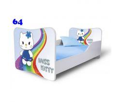 Pinokio Deluxe Butterfly Miss Kitty 64 dětská postel