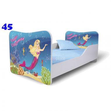Pinokio Deluxe Butterfly Moršká panna 45 dětská postel
