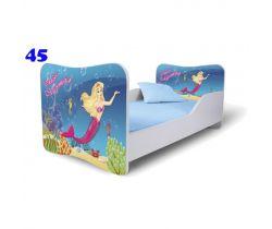 Dětská postel Pinokio Deluxe Butterfly Moršká panna 45