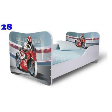 Dětská postel Pinokio Deluxe Butterfly Motorka 28
