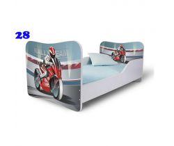 Pinokio Deluxe Butterfly Motorka 28 dětská postel