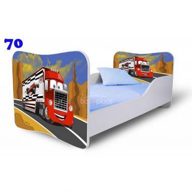 Pinokio Deluxe Butterfly Nákladní auto 70 dětská postel