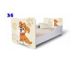 Pinokio Deluxe Butterfly Pejsek 35 dětská postel