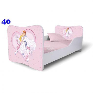 Dětská postel Pinokio Deluxe Butterfly Princ na koni 40