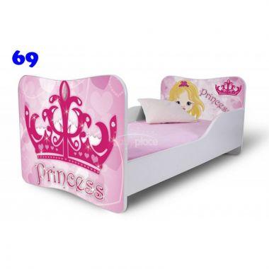 Pinokio Deluxe Butterfly Princess 69 dětská postel