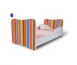 Pinokio Deluxe Butterfly Proužky 5 dětská postel