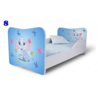 Pinokio Deluxe  Butterfly Slon 8 dětská postel
