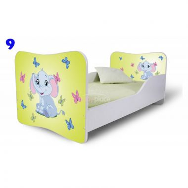 Pinokio Deluxe Butterfly Slon 9 dětská postel