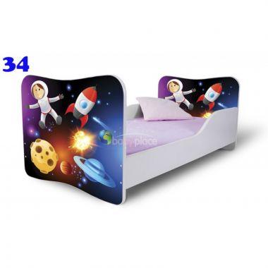 Pinokio Deluxe Butterfly Vesmír 34 dětská postel