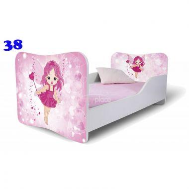 Dětská postel Pinokio Deluxe Butterfly Víla 38
