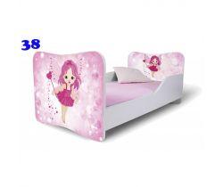 Pinokio Deluxe Butterfly Víla 38 dětská postel